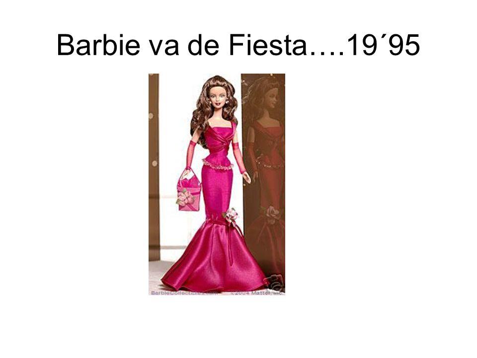 Barbie va de Fiesta….19´95
