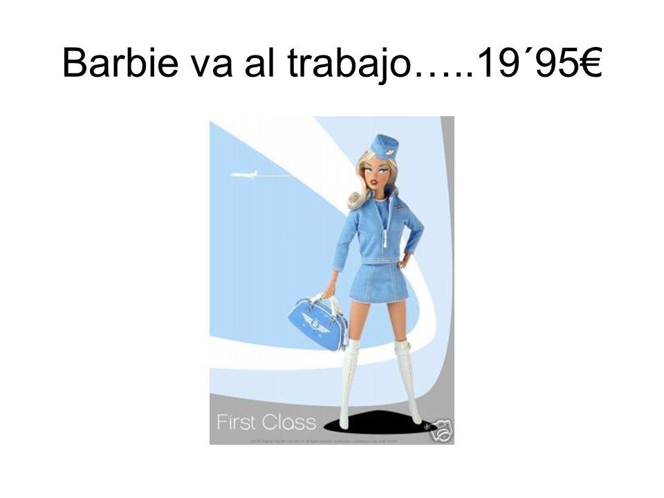 Barbie va al trabajo…..19´95€