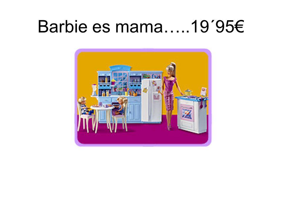 Barbie es mama…..19´95€