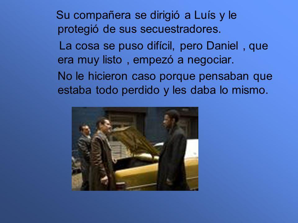 La policía adjudicó el caso al comisario Daniel.