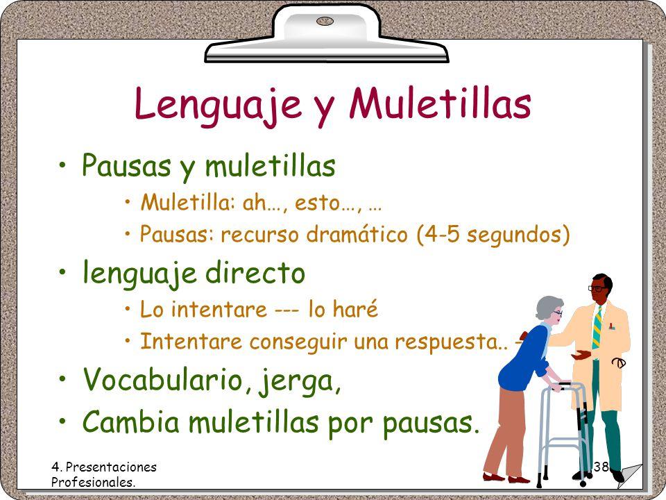 4. Presentaciones Profesionales.