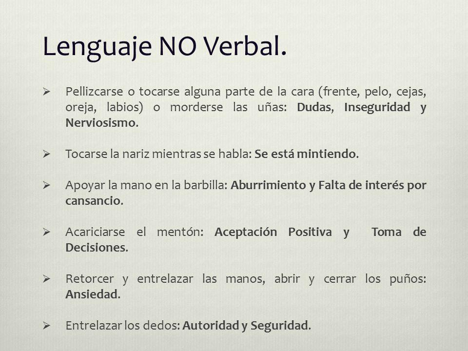 Lenguaje NO Verbal.