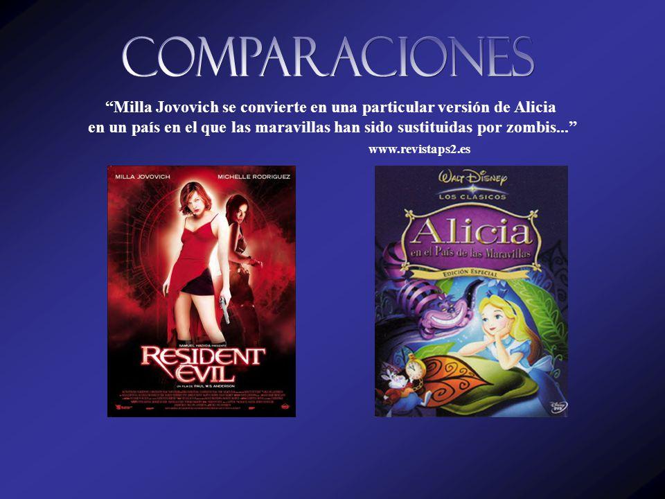 Milla Jovovich se convierte en una particular versión de Alicia en un país en el que las maravillas han sido sustituidas por zombis... www.revistaps2.es