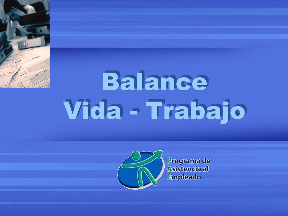 Balance Vida - Trabajo
