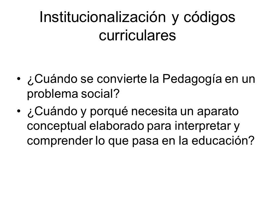 ¿Cuándo se convierte la Pedagogía en un problema social.