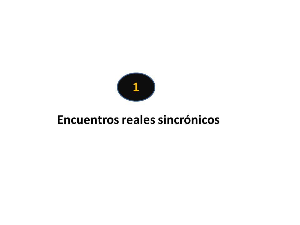 Encuentros reales sincrónicos 1