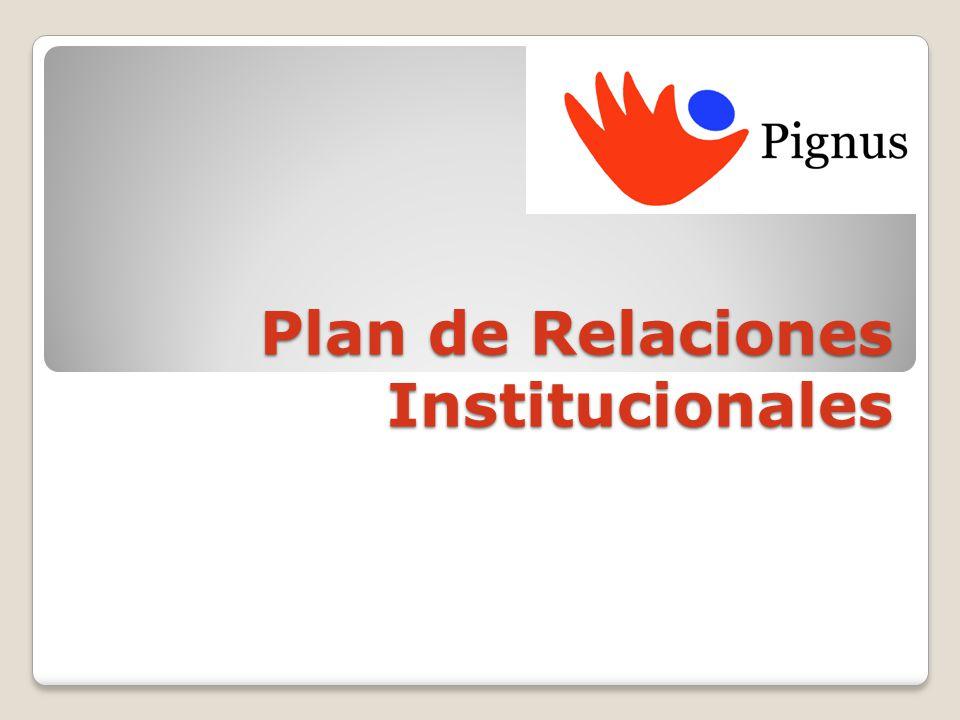 Plan de Relaciones Institucionales