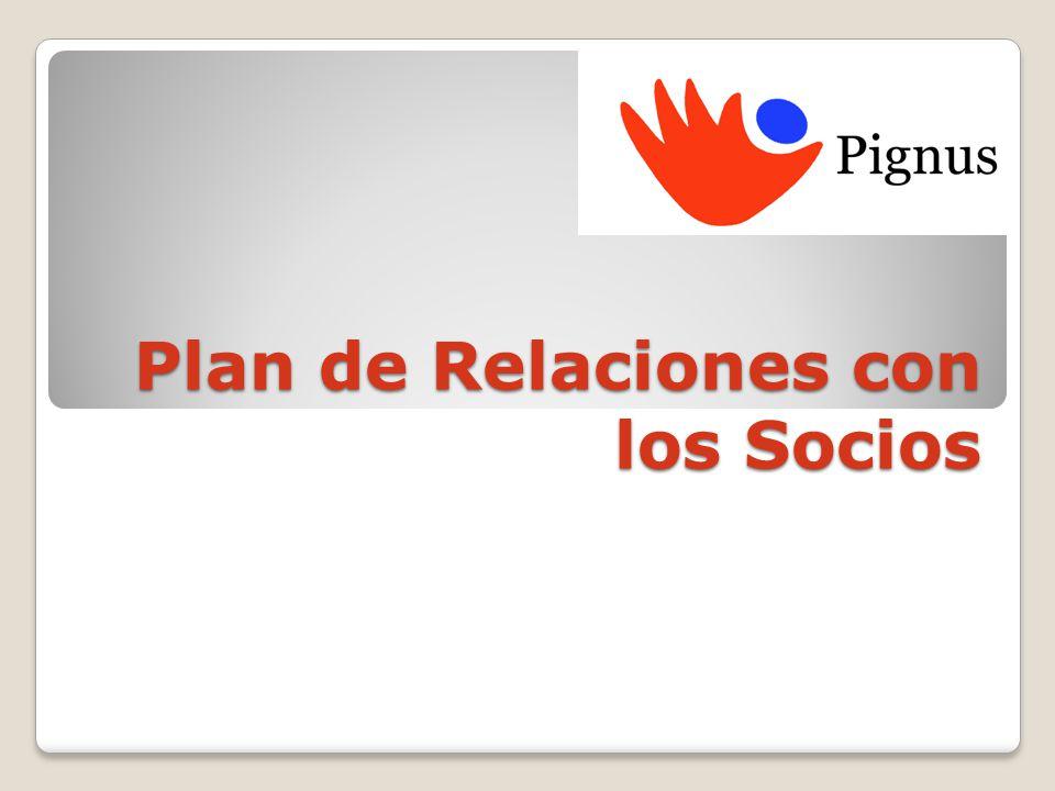 Plan de Relaciones con los Socios