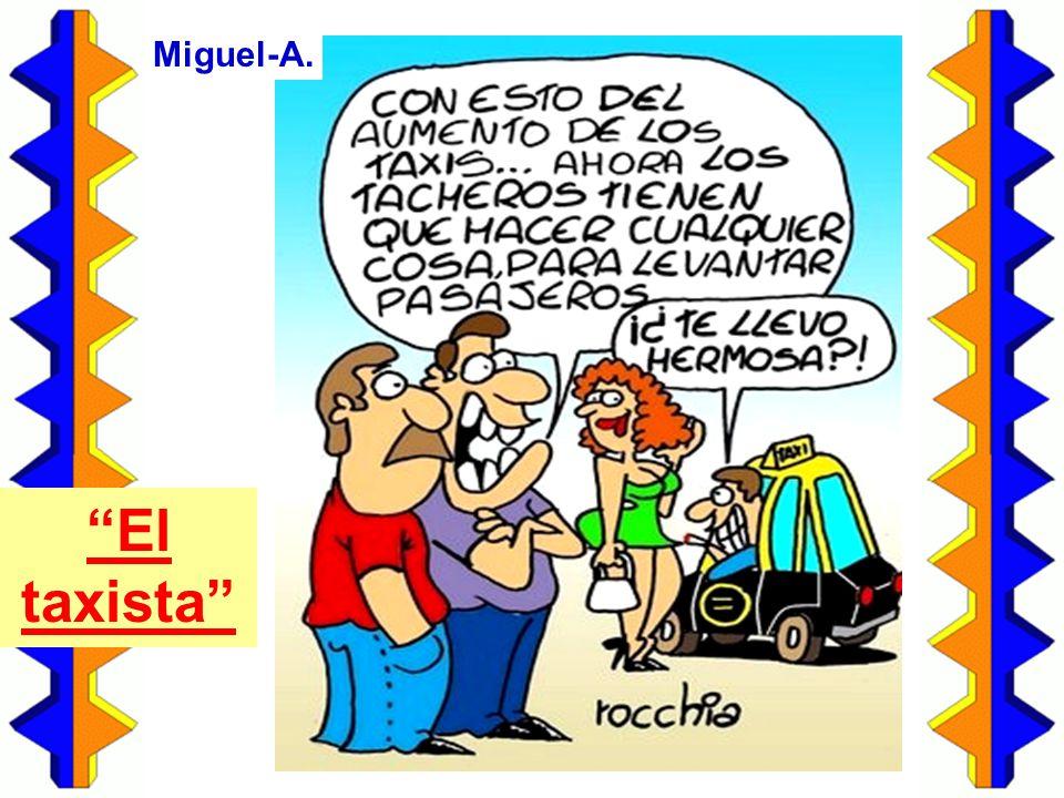 Miguel-A. El taxista