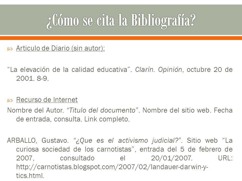  Articulo de Diario (sin autor): La elevación de la calidad educativa .