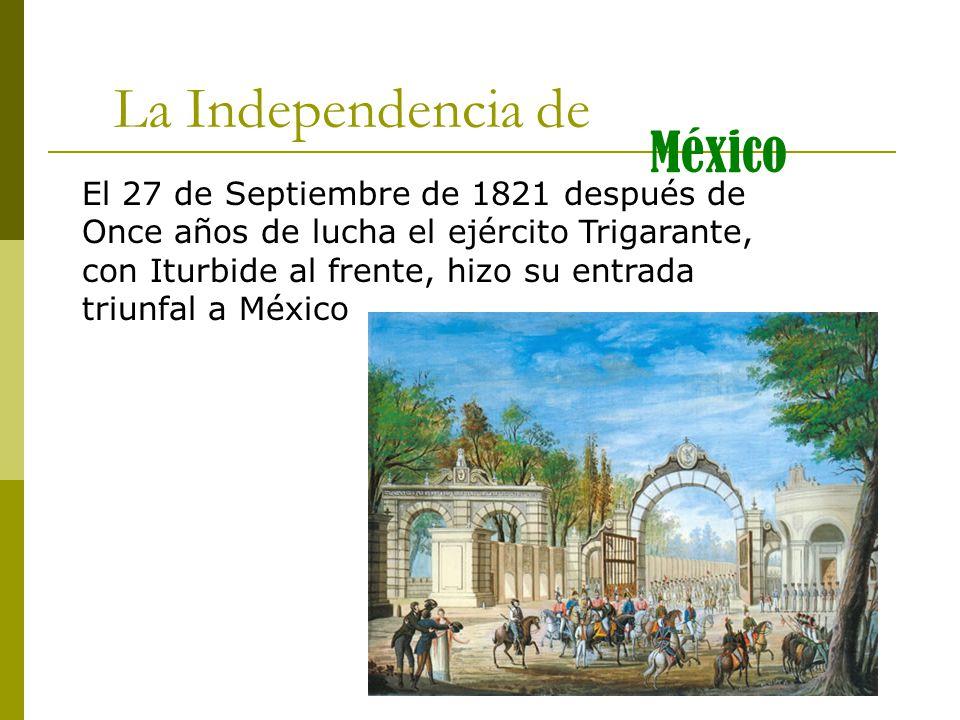 21 de septiembre de 1821: