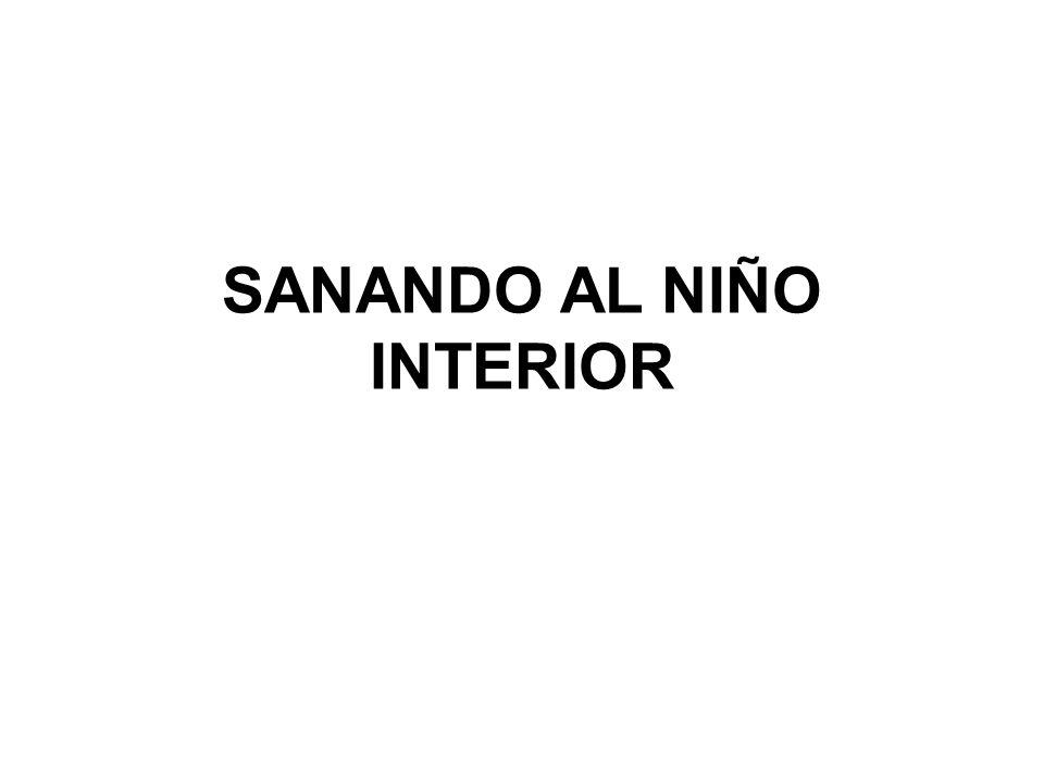 SANANDO AL NIÑO INTERIOR