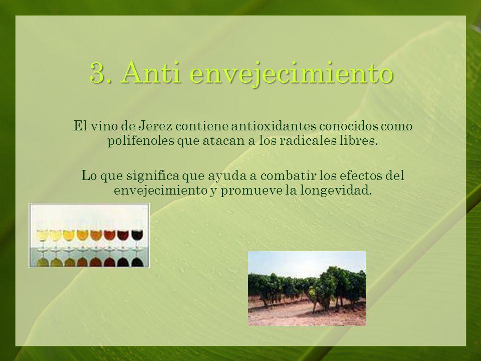 El vino de Jerez ayuda a prevenir enfermedades del corazón y derrame cerebral al reducir el nivel del colesterol.