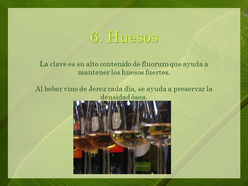 5. Artritis El vino de Jerez ayuda a prevenir y a reducir el riesgo de artritis reumatoide.