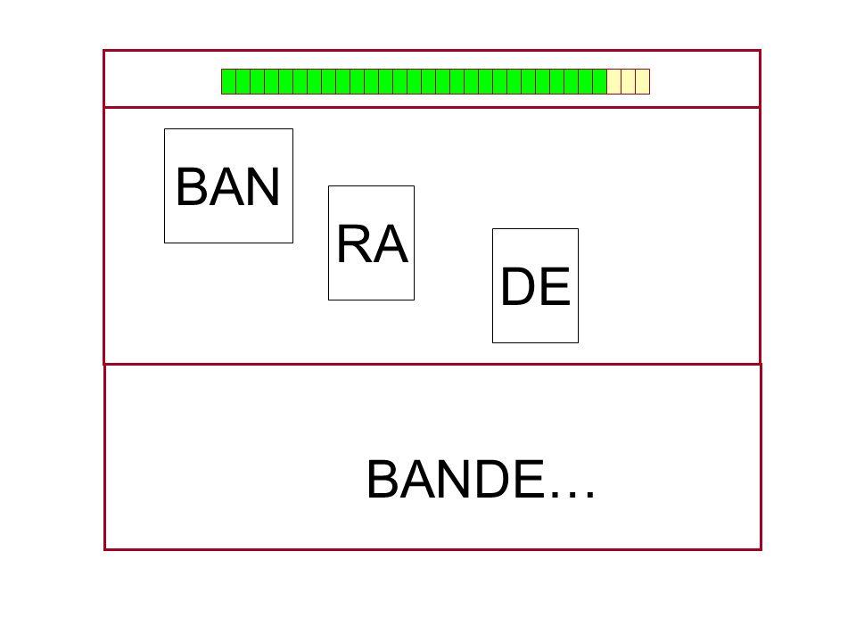 RA BAN DE …BAN…