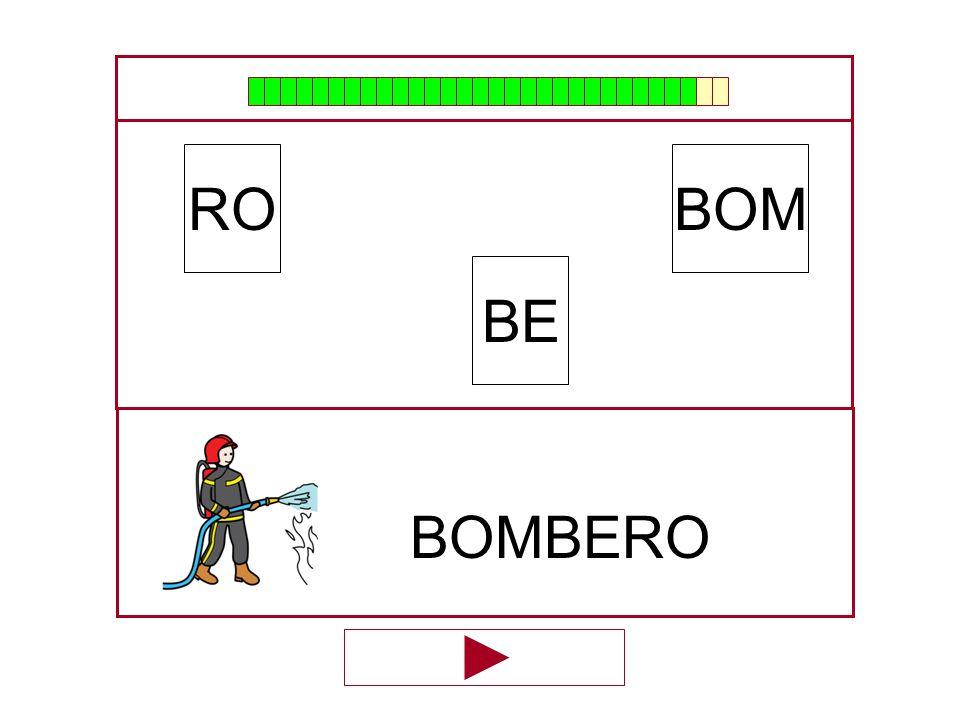 BOM BE RO …BOMBE…