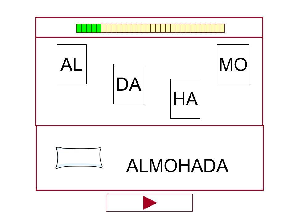 MO DA AL HA …ALMOHA…