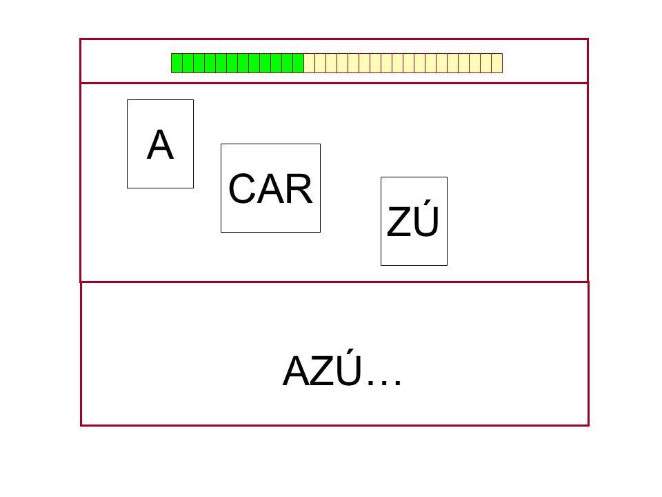 CAR A ZÚ …A…