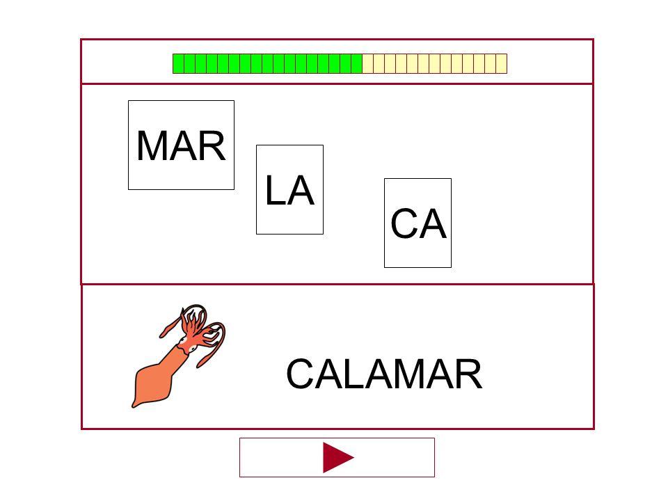 LA MAR CA …CALA…