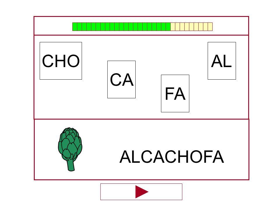 AL CA CHO FA …ALCACHO…