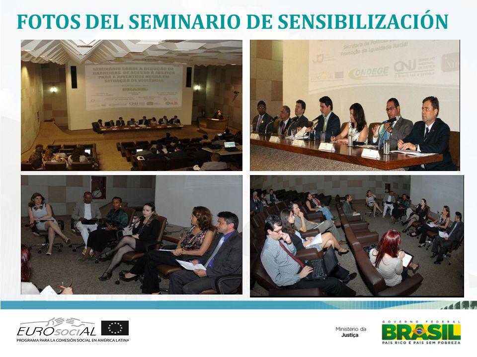 FOTOS DEL SEMINARIO DE SENSIBILIZACIÓN