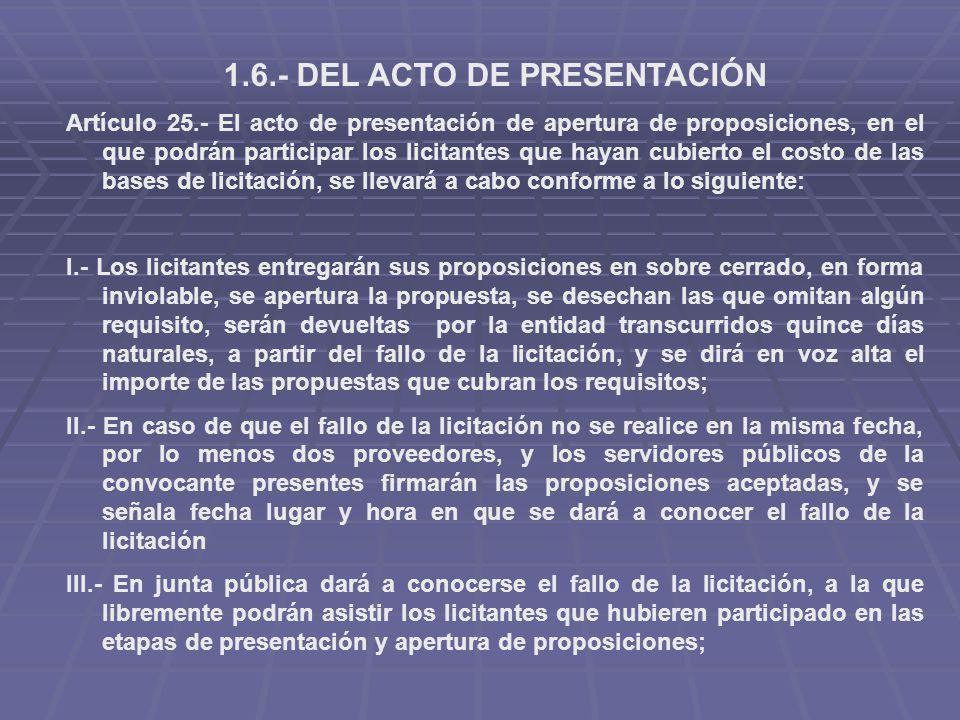 ley de adquisiciones arrendamientos y prestacion:
