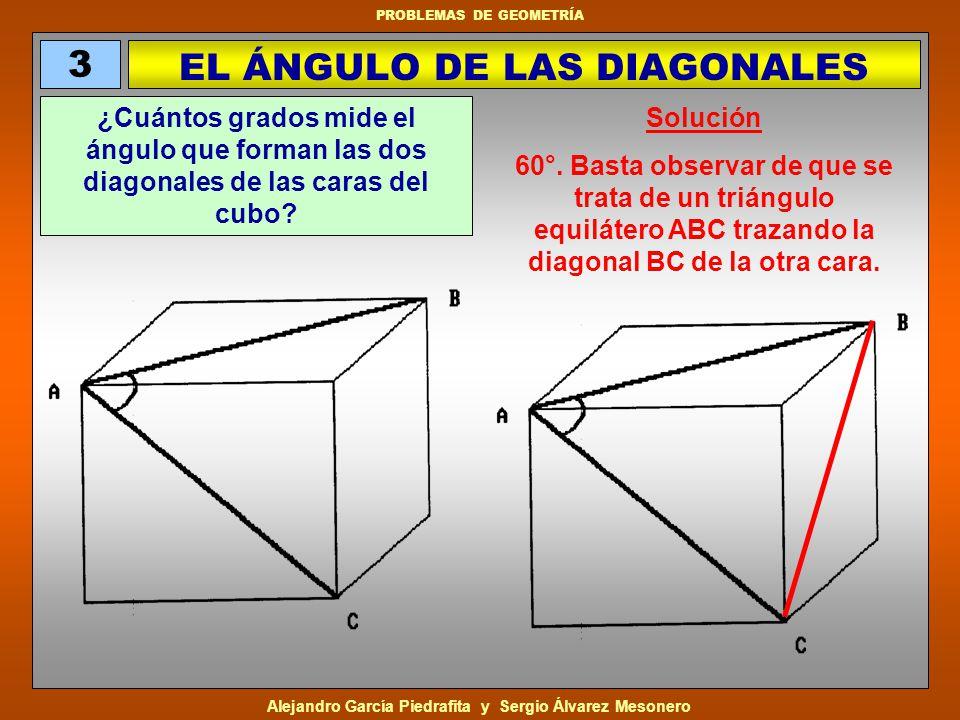 Alejandro García Piedrafita y Sergio Álvarez Mesonero PROBLEMAS DE GEOMETRÍA MN = 6 centímetros.