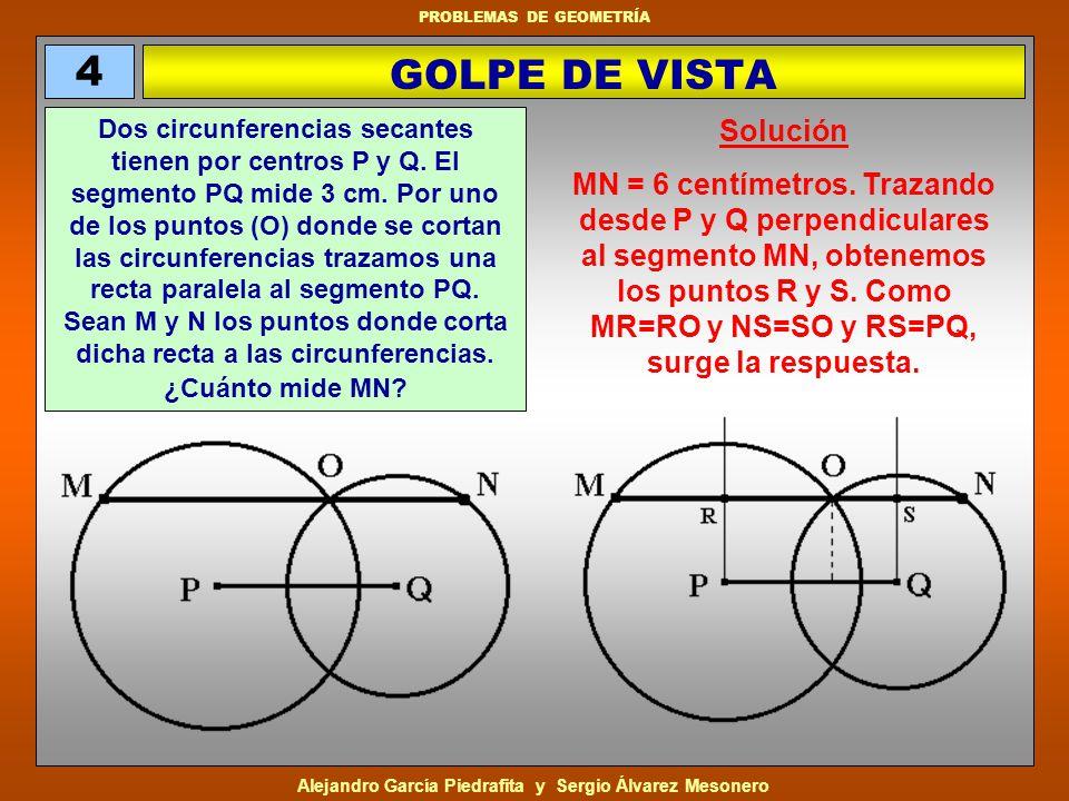 Alejandro García Piedrafita y Sergio Álvarez Mesonero PROBLEMAS DE GEOMETRÍA.
