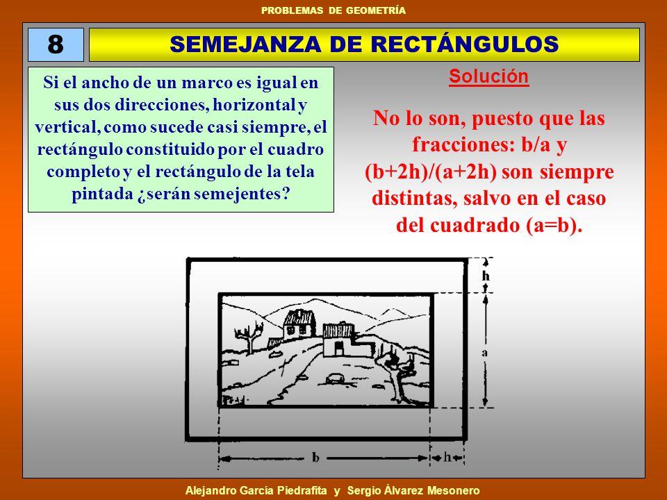 Alejandro García Piedrafita y Sergio Álvarez Mesonero PROBLEMAS DE GEOMETRÍA Un hombre quiere enviar por correo un fluorescente que mide 92 cm.
