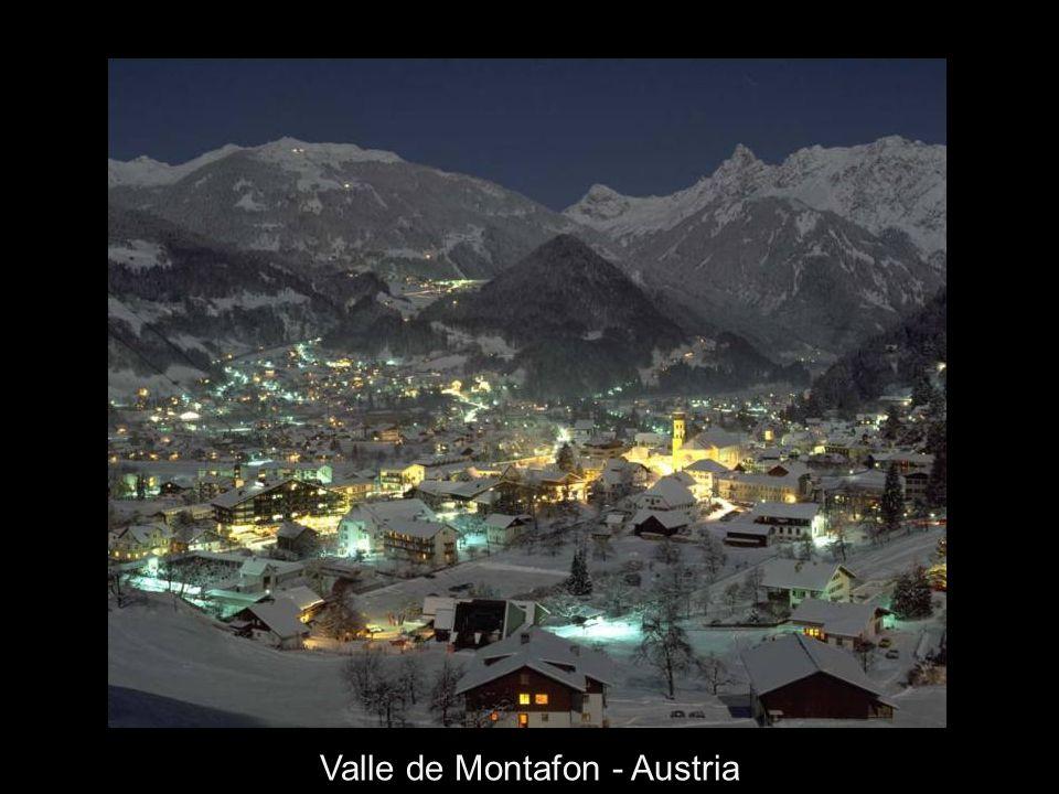 Schhruns en el Valle Montafon - Austria