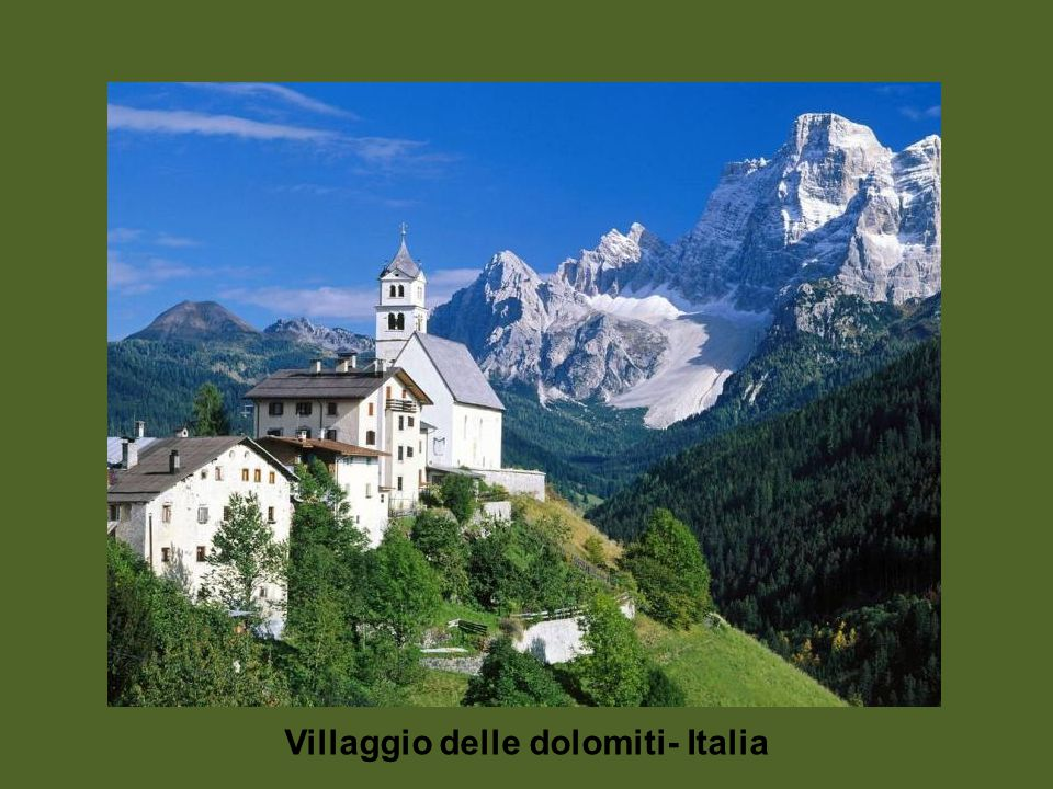 Le Dolomita - Italia