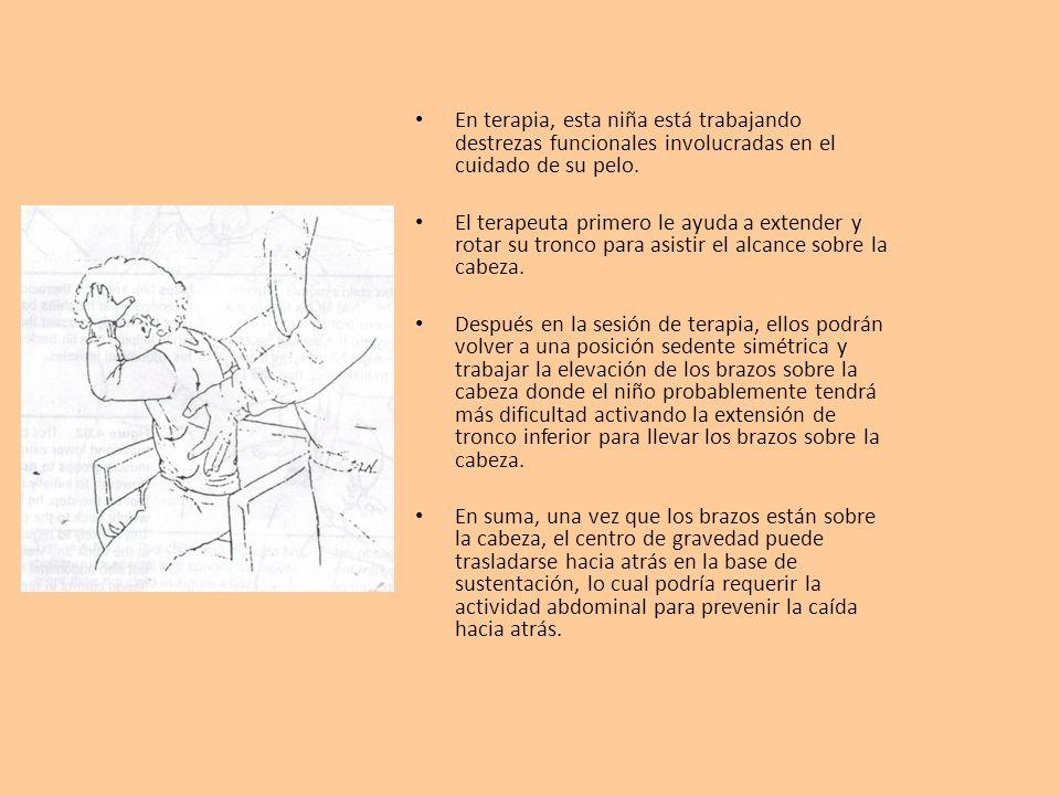 Estrategias de tratamiento El tronco inferior es el lugar donde se localiza el centro de gravedad del cuerpo, es por ello la gran necesidad de un tronco inferior estable.