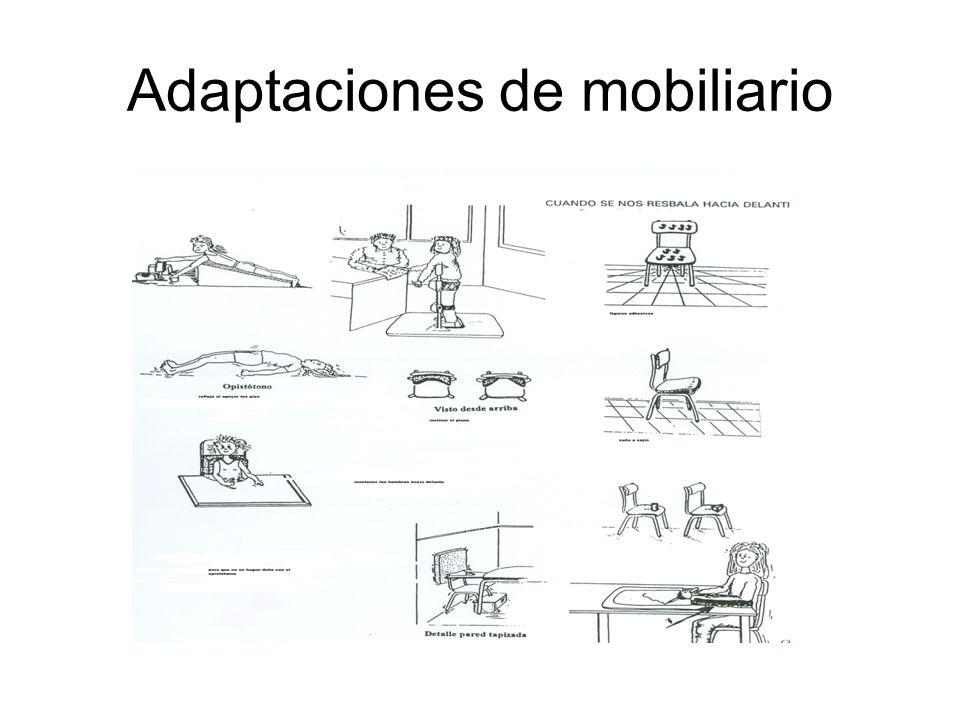 Adaptaciones de mobiliario