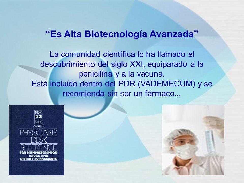 Es Alta Biotecnología Avanzada La comunidad científica lo ha llamado el descubrimiento del siglo XXI, equiparado a la penicilina y a la vacuna.