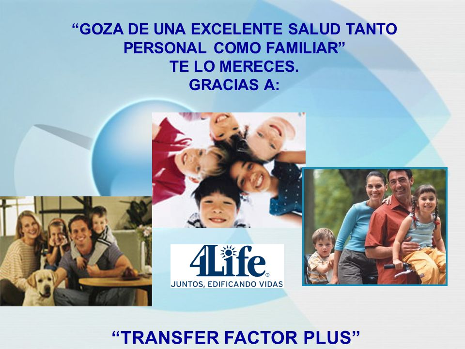 GOZA DE UNA EXCELENTE SALUD TANTO PERSONAL COMO FAMILIAR TE LO MERECES.