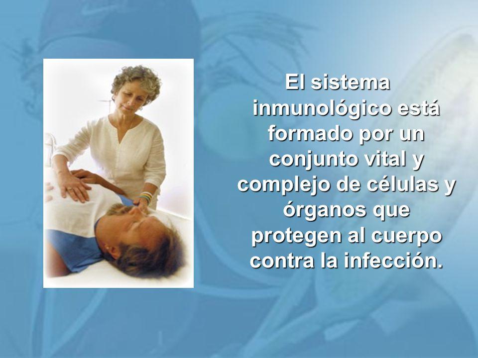 El sistema inmunológico está formado por un conjunto vital y complejo de células y órganos que protegen al cuerpo contra la infección.