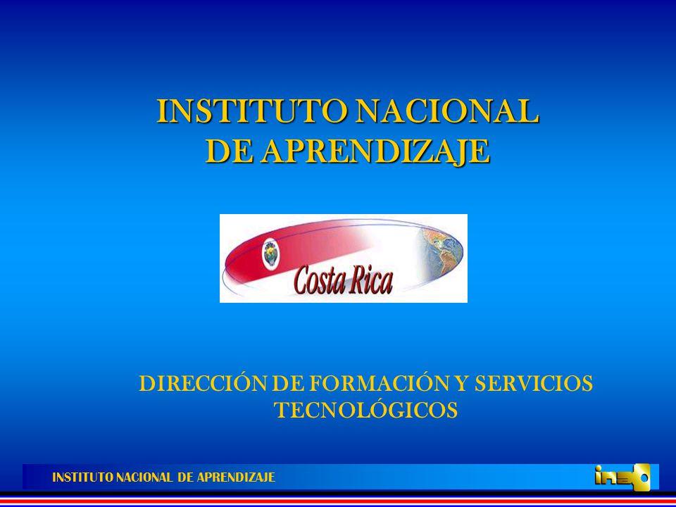 INSTITUTO NACIONAL DE APRENDIZAJE CARACTERISTICAS DE LAS NORMAS DE COMPETENCIA LABORAL 5.