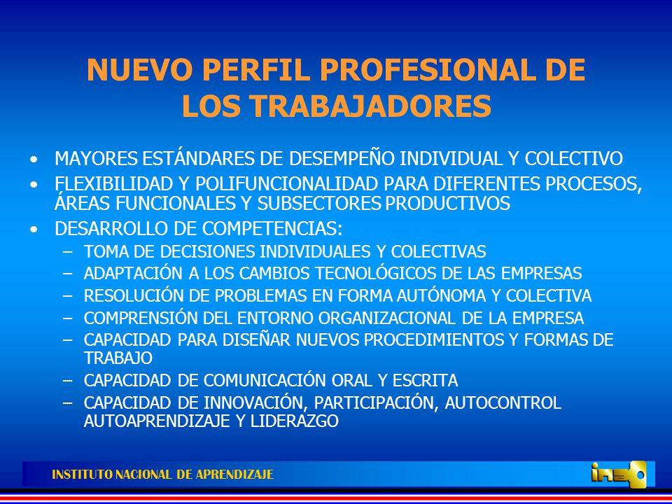 INSTITUTO NACIONAL DE APRENDIZAJE EN RESUMEN NO SOLO BASTA DOMINAR CONOCIMIENTOS Y POSEER HABILIDADES.