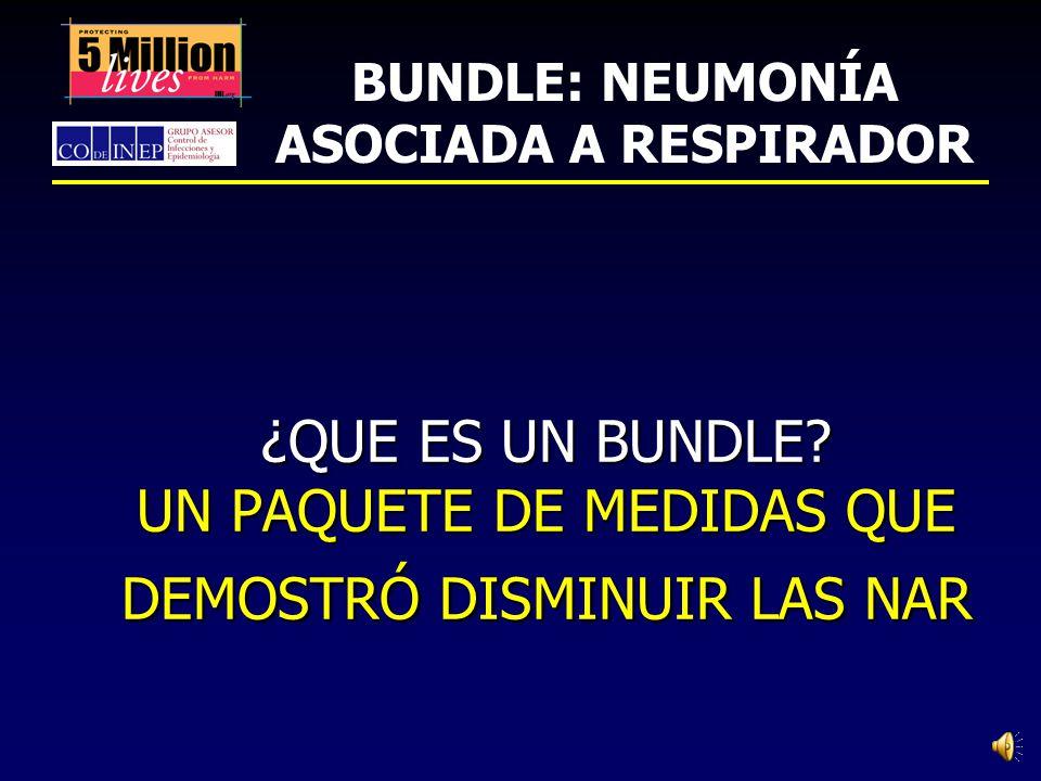 CAMPAÑA 5 MILLONES DE VIDAS: PREVENCIÓN DE LA NEUMONÍA ASOCIADA A RESPIRADOR Instituto para el mejoramiento del cuidado de la salud