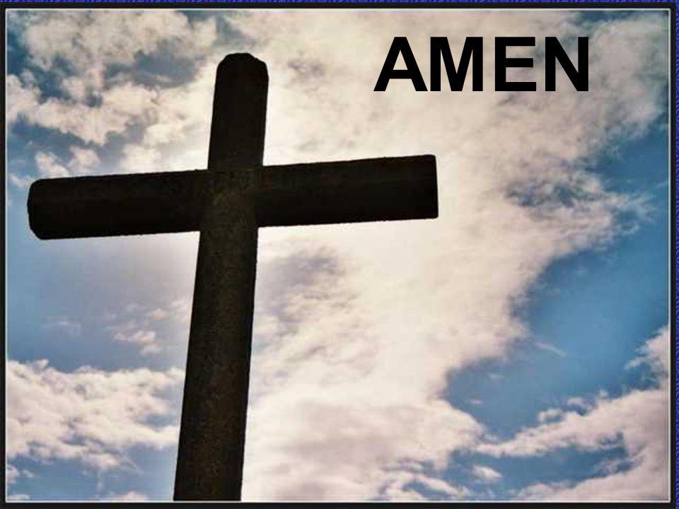 Y LÍBRANOS DEL MAL Benedici noi, Signore. Ascoltaci, Signore.