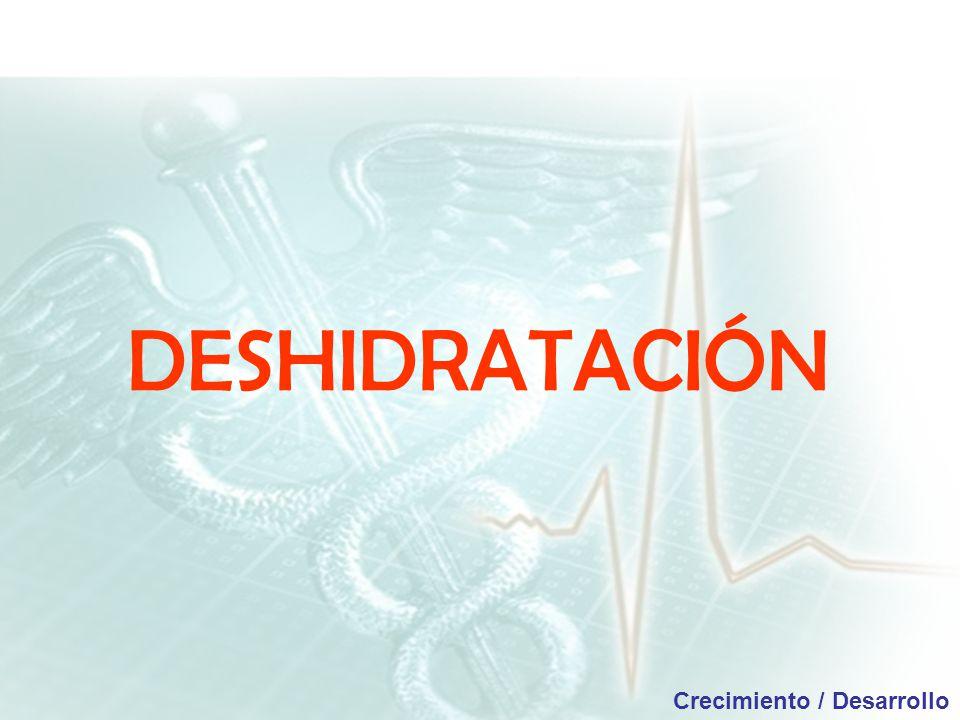 DESHIDRATACIÓN Crecimiento / Desarrollo