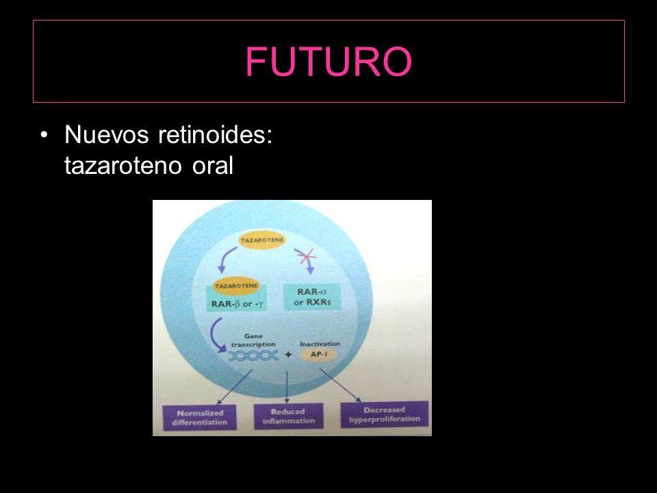 FUTURO Nuevos retinoides: tazaroteno oral