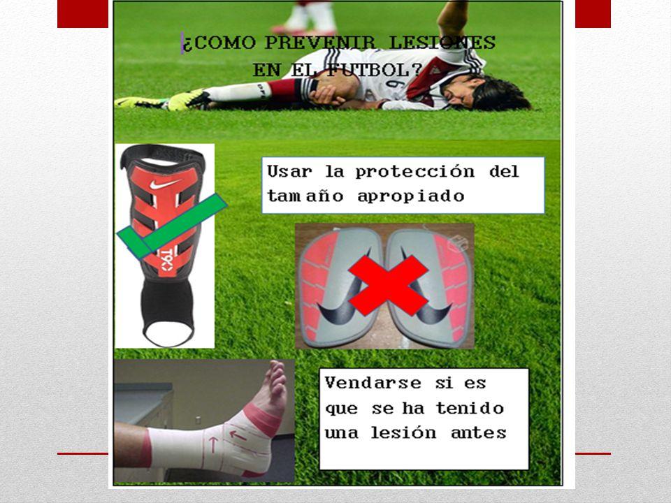 Si es que se ha sufrido alguna lesión en el tobillo es recomendable usar tobilleras o vendarse en el tobillo, estas sirve para proteger el tobillo y prevenir futuras lesiones.