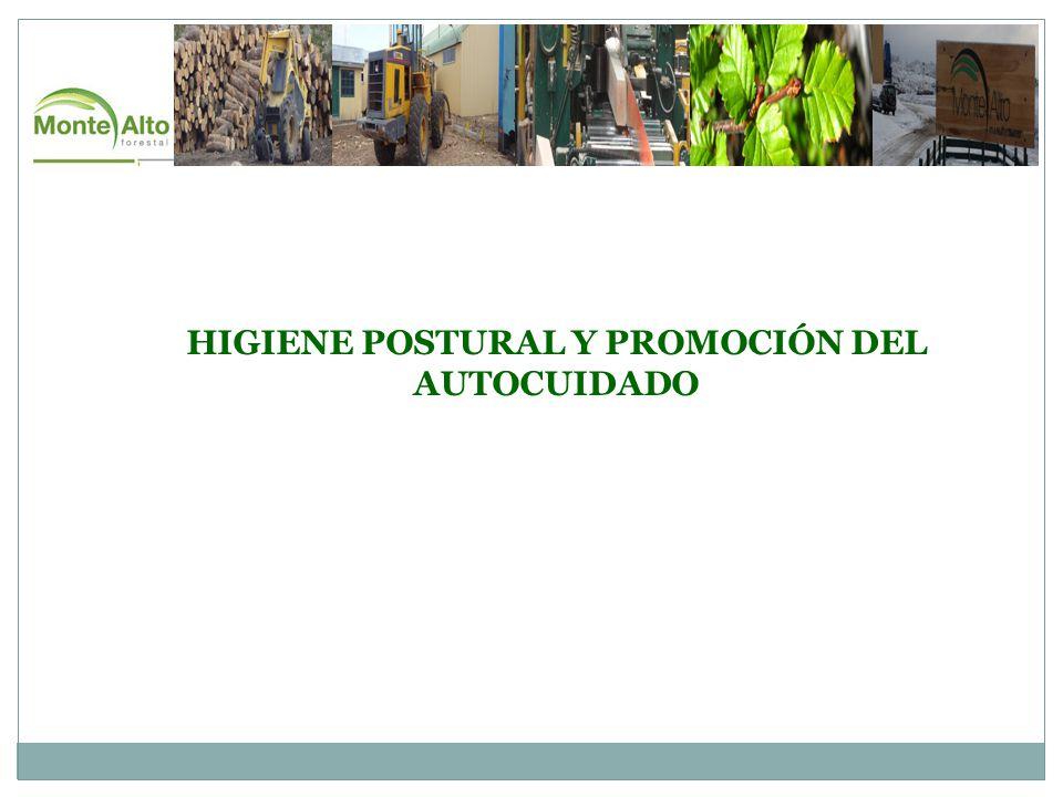 HIGIENE POSTURAL Y PROMOCIÓN DEL AUTOCUIDADO