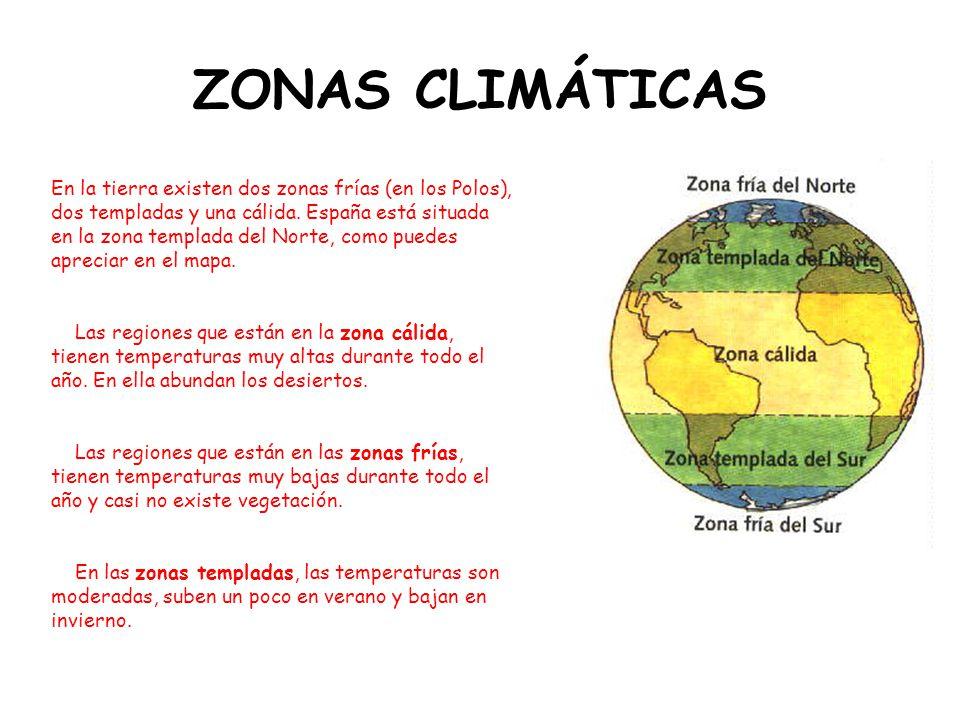 """La presentaci�n """"LOS GRANDES BIOMAS. ZONAS CLIM�TICAS En la tierra ..."""