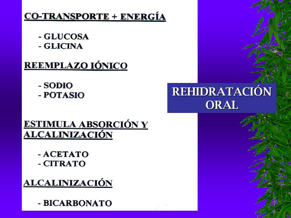 REHIDRATACIÓN ORAL