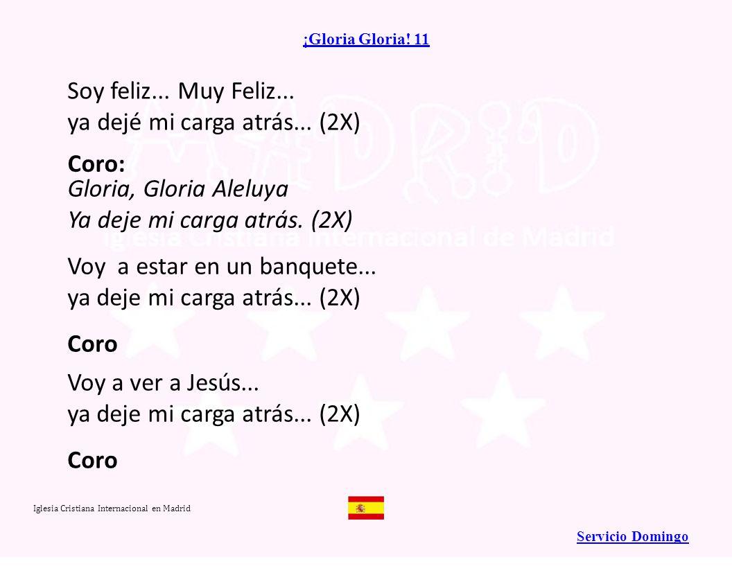 Iglesia Cristiana Internacional en Madrid Página 7 Levanta tu vida sobre la roca (3X) Y vencerás (¡y vencerás!) Que no hay poder en este mundo, Que pueda vencer a su palabra Levanta tu vida sobre la roca que es Jesús.