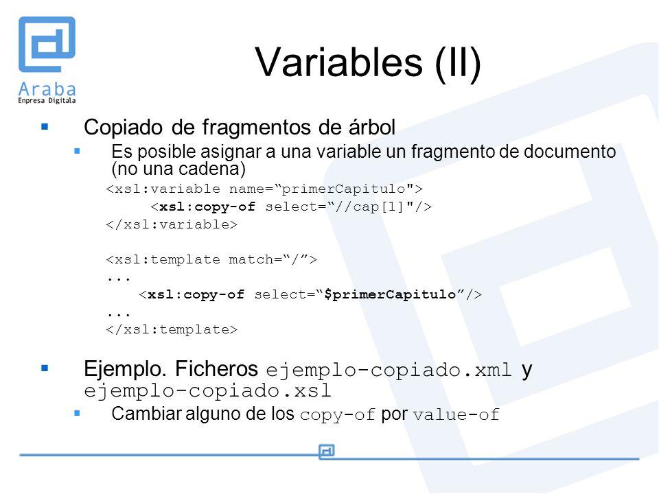 Curso: XML, de los datos a la presentación Julio de 2005 CAPTIVA ...