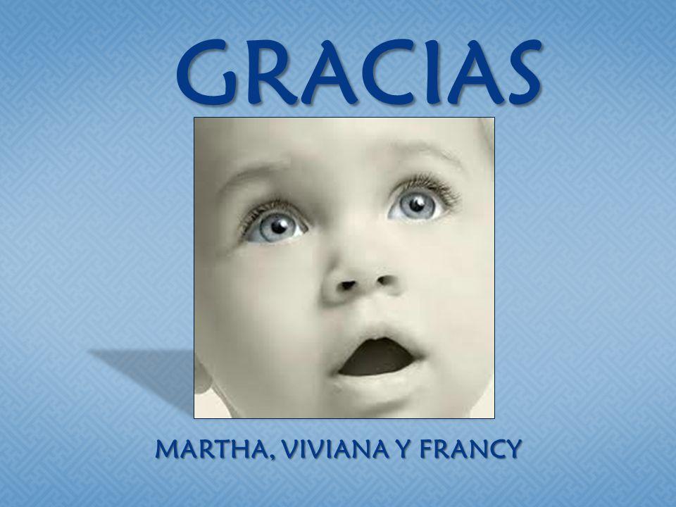 GRACIAS MARTHA, VIVIANA Y FRANCY