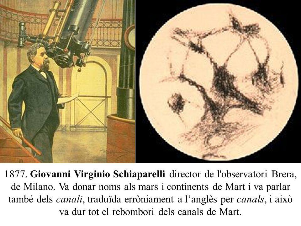 Resultado de imagen de hombres como Giovanni Virginio Schiaparelli, Percival Lowell y William Henry Pickering
